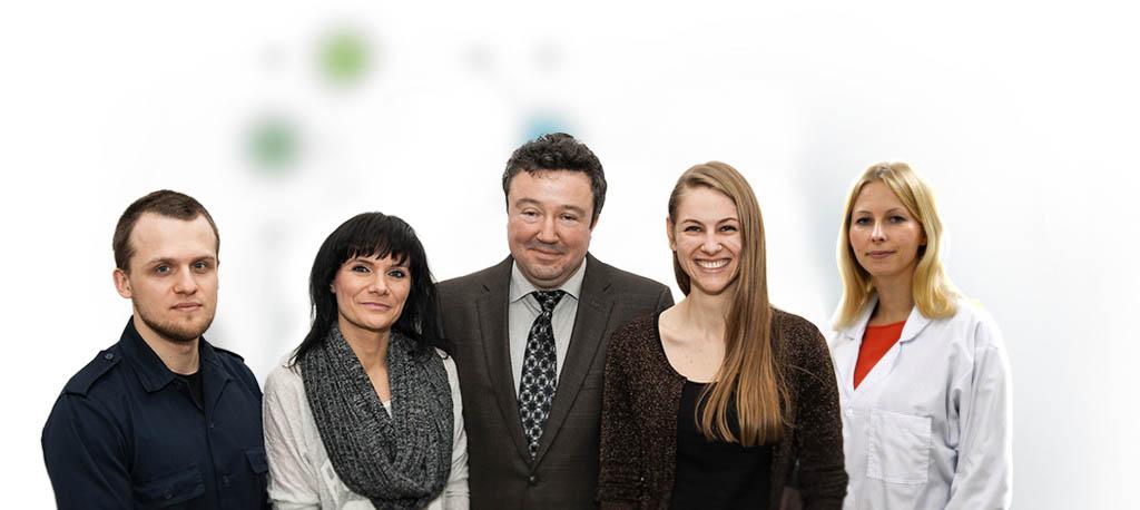 Zespół badawczy Tomasza Stokłosy